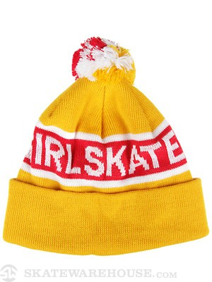 Girl Sonic Fold Beanie Yellow
