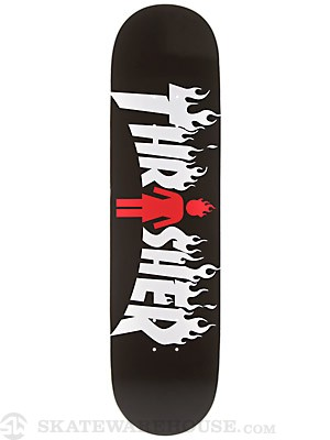 Girl x Thrasher Deck  8.125 x 31.63