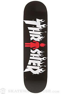 Girl x Thrasher Deck  8.25 x 32