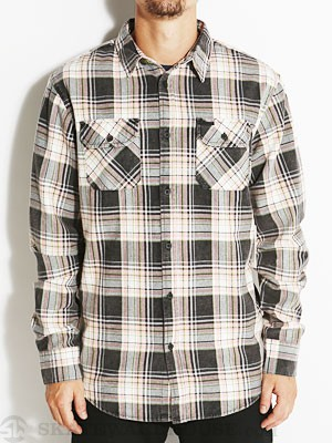 Globe Corsair Flannel Shirt Black SM