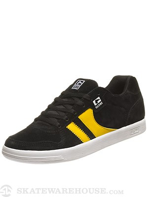 Globe Encore Generation Shoes  Black/Yellow