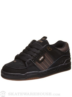 Globe Fusion Shoes Black/Brown