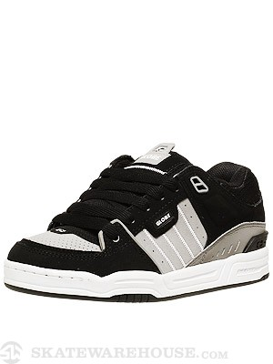 Globe Fusion Shoes Black/Grey