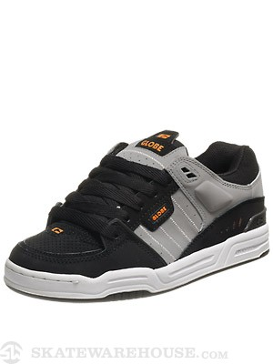 Globe Fusion Shoes  Black/Night/Orange