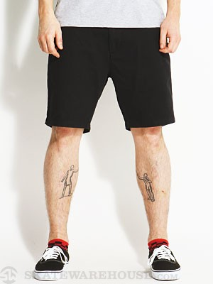 Globe Goodstock Chino Shorts Black 28