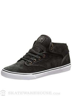 Globe Motley Mid Shoes  Vintage Black/Black