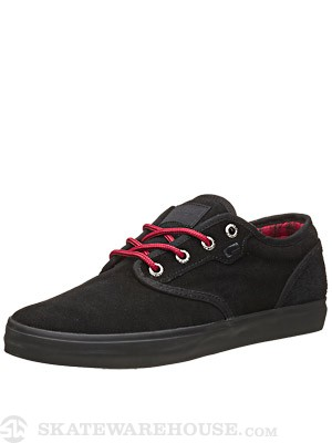 Globe Motley Shoes Black/Night/Red
