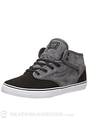 Globe Motley Mid Shoes Charcoal/Black