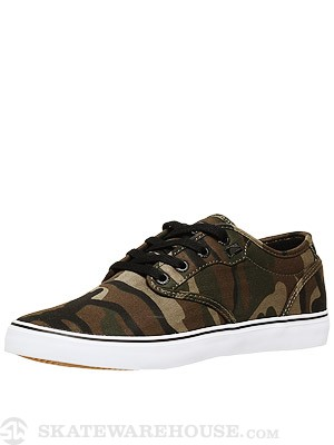 Globe Motley Shoes Green Camo