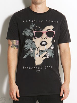 Globe Paradise Found Tee Black MD