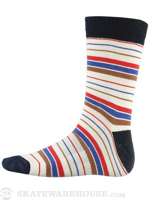 Globe Premium Socks Pin Line White