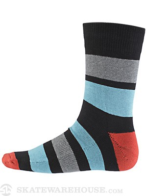 Globe Premium Socks Big Stripe Black