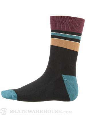 Globe Premium Socks Rig Stripe Black