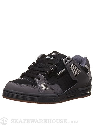 Globe Sabre Shoes  Black/Charcoal/Grey