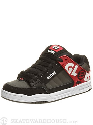 Globe Tilt Shoes  Black/Crimson/Night TPR