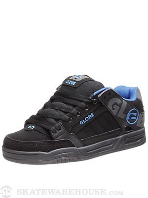 Globe Tilt Shoes  Black/Blue/Charcoal TPR