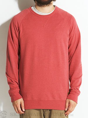 Globe Turner Crew Sweatshirt Red MD