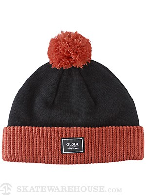 Globe Whitworth Beanie Black/Orange