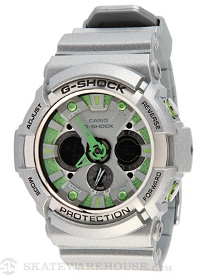 G-Shock GA-200SH-8A Watch  Grey w/Grey Face
