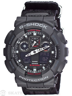 G-Shock GA-100MC-1A1 Cloth Band Watch