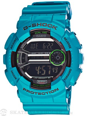 G-Shock GD-100 Series LAP Memory 60 Watch Baby Blue