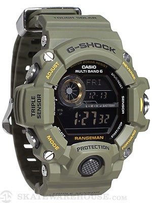 G-Shock GW-9400-1 Rangeman Watch  Army