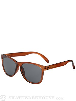 Glassy Deric Sunglasses  Transparent Coffee