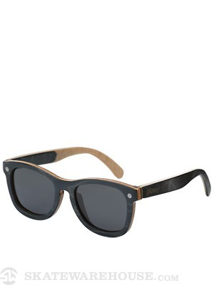 Glassy Deric Skateboard Sunglasses  Wood-Polarized