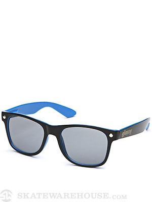 Glassy Leonard Sunglasses  Black/Blue