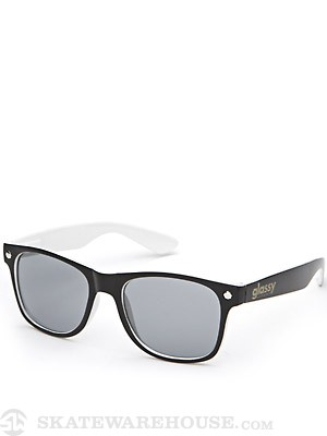 Glassy Leonard Sunglasses  Black/White