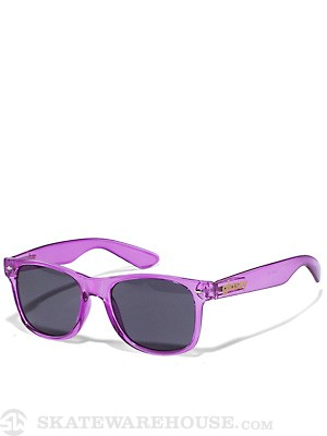 Glassy Nu Clear Sunglasses  Purple