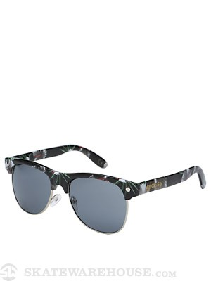 Glassy Shredder Sunglasses  Black/Floral