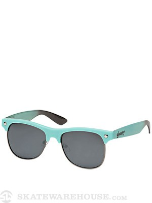 Glassy Shredder Sunglasses  Sea Green/Brown Fade