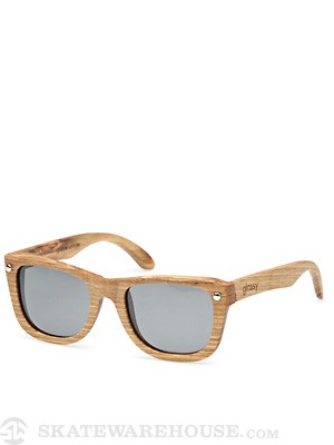 Glassy Marc Johnson Sunglasses  Wood-Polarized