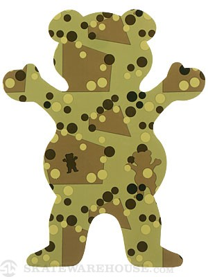 Grizzly Splash Camo OG Bear Sticker