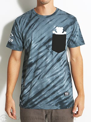 Grizzly Tie Dye Pocket Tee Black XXL