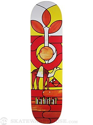 Habitat Angel Stained Glass Deck  8.25 x 31.25