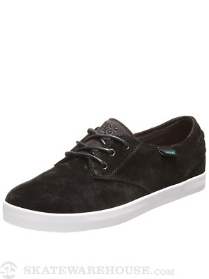 Habitat Garcia Shoes  Black & Teal