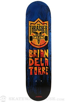 Habitat Delatorre Thrasher Collab Deck  8.25 x 32
