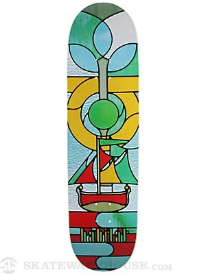 Habitat Gall Stained Glass Deck  8.5 x 33
