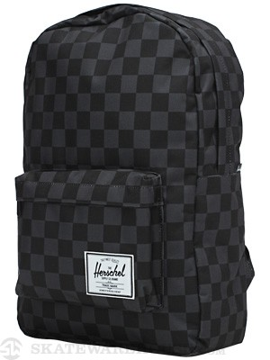 Herschel Classic Backpack Black Checkerboard