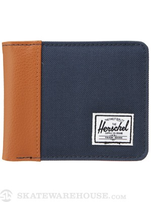 Herschel Edward Wallet Navy/Tan
