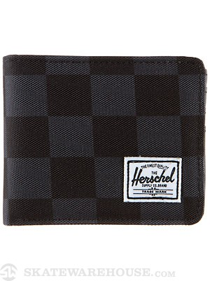 Herschel Hank Wallet Black Checkerboard