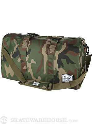 Herschel Novel Duffle Bag Woodland Camo