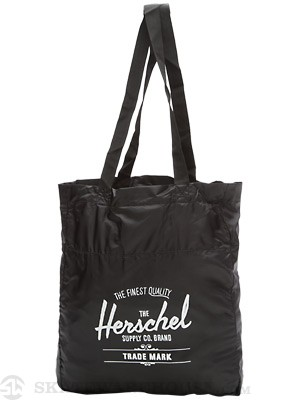 Herschel Packable Travel Tote Bag Black
