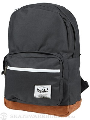 Herschel Pop Quiz Suede Backpack Black