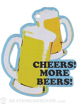 Happy Hour Cheers More Beers Air Freshener