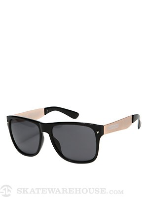 Happy Hour Romar Bermudas Shades  Black/Gold Steel