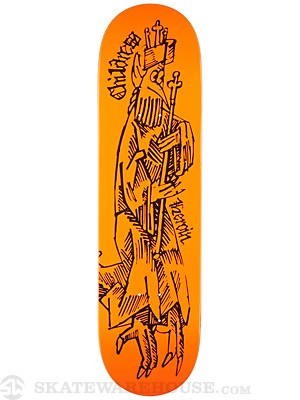 Heroin Childress JJ Woodcut Deck  8.5 x 32