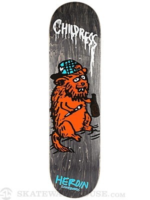 Heroin Childress SKGBRDS Deck  8.5 x 32.25